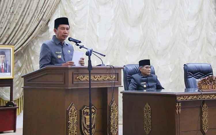 Plt Kepala Dinsos PMD Barito Utara, Eveready Noor saat dikonfirmasi wartawan, Kamis 5 September 2019