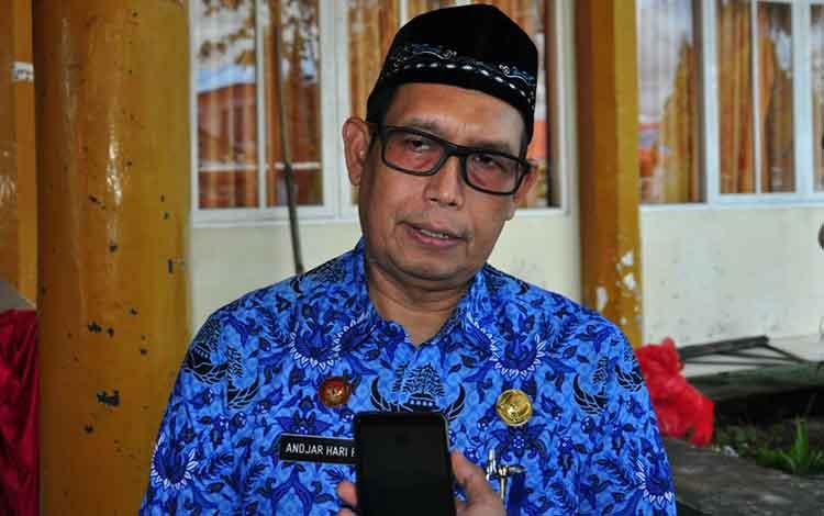 Plt Kepala Dinas Kesehatan Kota Palangka Raya, dr Andjar Hari Purnomo menegaskan Dinkes akan membantu memberikan rujukan untuk Akhmad Yani, Kamis, 5 September 2019.