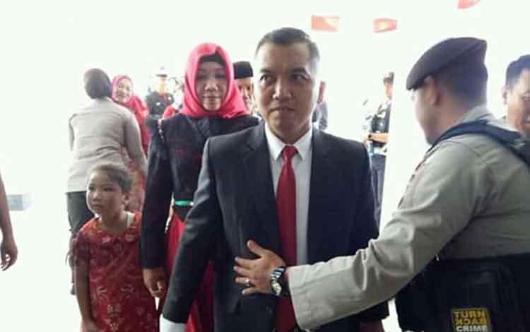Zuli Eko Prasetyo, dapat restu dari DPP PDI Perjuangan untuk menjabat Ketua DPRD Seruyan.