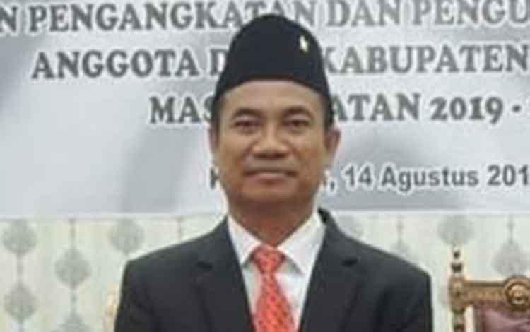 Marwan Susanto, politisi PDIP ini direkomendasi menjadi Ketua DPRD Katingan 2019 - 2024