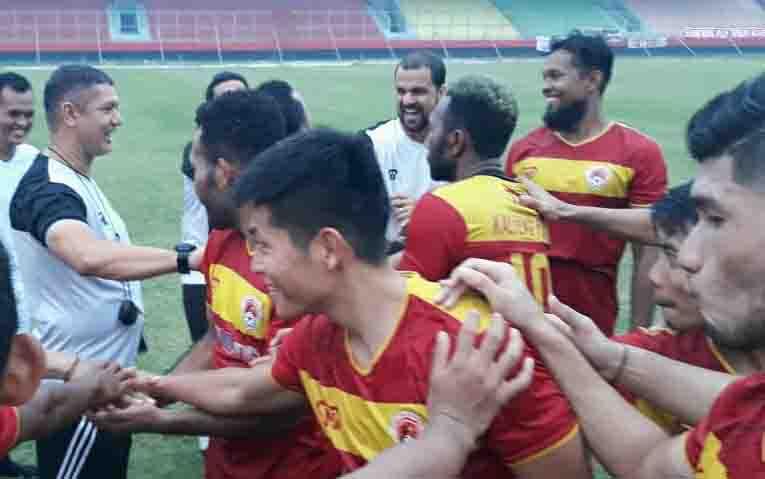 Jadwal untuk Kalteng Putra di putaran kedua kompetisi Liga 1 Indonesia dimulai pada Jumat, 13 September 2019. Nampak tim Kalteng Putra usai menjalani latihan.