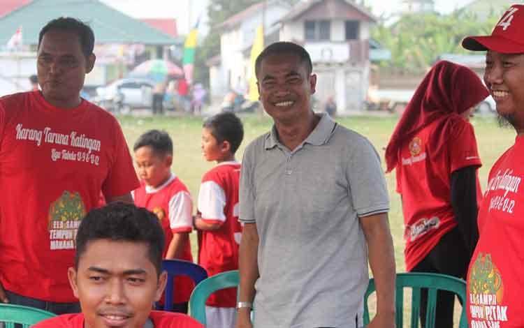 Anggota DPRD Kabupaten Katingan ini mengapresiasi gelaran liga tabela Karang Taruna Katingan.