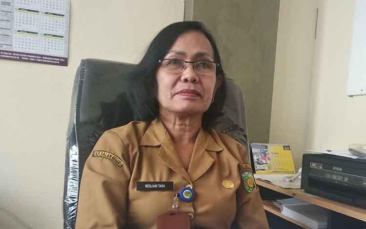 Plt Kepala BKPP Kota Palangka Raya, Mesliani Tara menegaskan tahapan seleksi pejabat tinggi pratama sudah melalui pembuatan makalah dan wawancara sudah selesai dilaksanakan saat di kantornya, Senin, 9 September 2019.