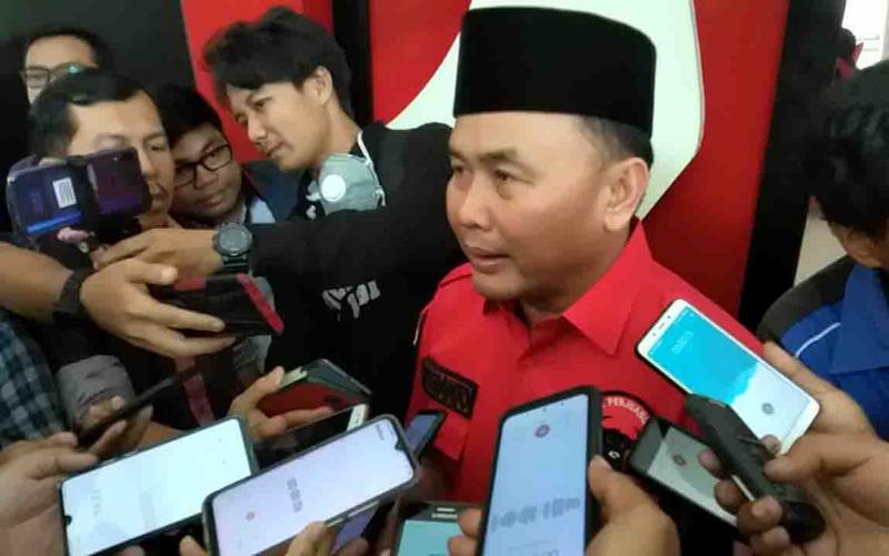 Gubernur Kalteng memberikan keterangan kepada wartawan. Sugianto Sabran mengajak semua pihak untuk terus menjaga rasa aman dan tentram menjelang Pilkada 2020 dan seterusnya.