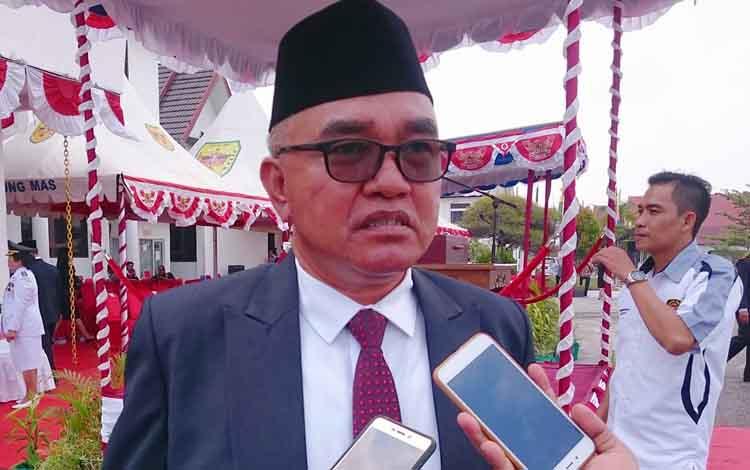 Plt Sekretaris DPKO Kabupaten Gunung Mas Siren. DPKO  akan menyelenggarakan Pekan Olahraga Pelajar Kabupaten (Popkab) pada 16-20 September 2019.