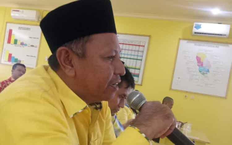Rudianur, anggota dewan Kotim yang direkomendasikan sebagai Wakil Ketua DPRD Kotawaringin Timur dari Partai Golkar
