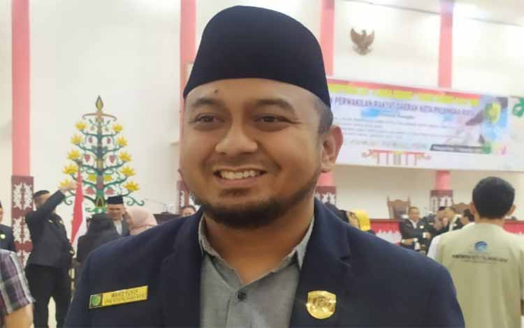 Wakil Ketua I DPRD Kota Palangka Raya, Wahid Yusuf. Sebagai wakil rakyat, dia komitmen akan menjalankan amanah yang diberikan dan melakukan yang terbaik untuk masyarakat