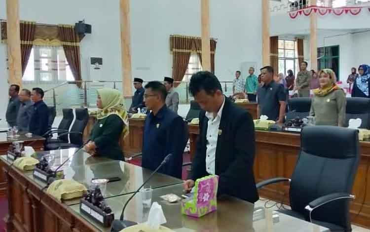 Penetapan nama unsur pimpinan DPRD Sukamara telah melewati beberapa tahapan, sesuai syarat untuk pengajuan SK Gubernur Kalteng, Kamis, 12 September 2019.