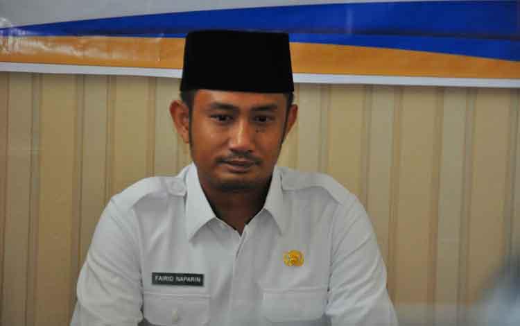 Fairid Naparin, Walikota Palangka Raya. Sementara itu walikota mengakui masih lemah managemen ASN dalam pencegahan korupsi