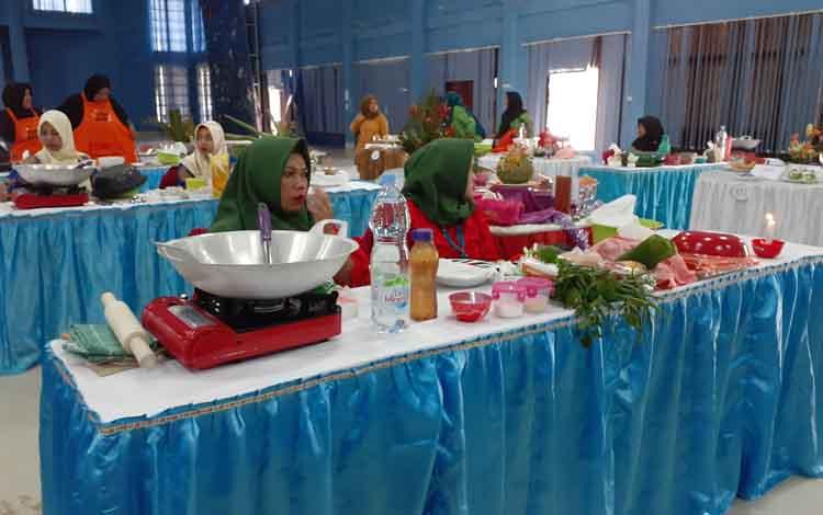 Ketua TP KPP Sukamara, Siti Zulaiha Windu Subagio mengharapkan Gerakan Memasyarakatkan Makan Ikan dapat ciptakan generasi sehat dan cerdas, Jumat, 13 September 2019.