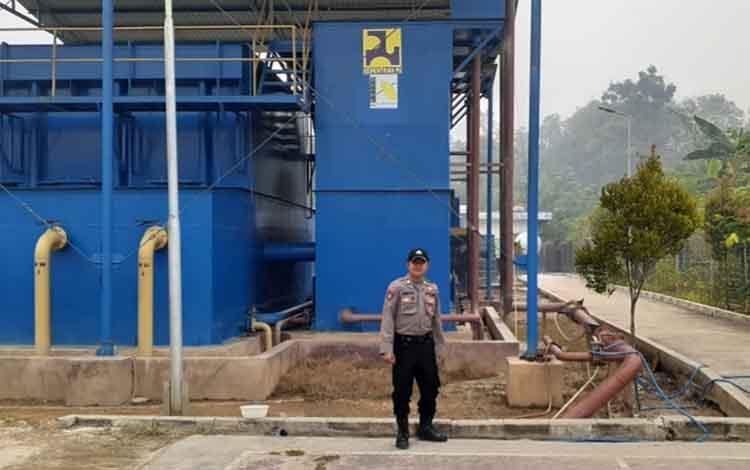 Jajaran Polsek Kapuas Tengah melaksanakan patroli objek vital, seperti menyambangi PDAM unit Pujon, Senin, 16 September 2019 sore.
