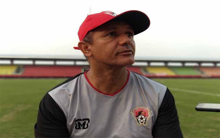 Pelatih Kalteng Putra Gomes De Oliveira menekankan kepada tim besutannya untuk mengandalkan kolektivitas saat menghadapi tuan rumah, Badak Lampung FC pada Kamis, 19 September 2019