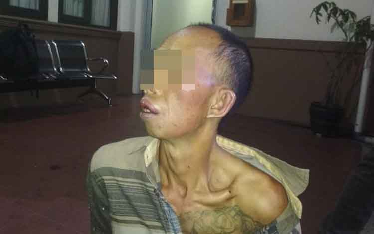 SB, 49, pelaku tindak pidana pencurian dengan pemberatan yang telah beraksi di tiga lokasi dalam sehari ternyata seorang residivis.