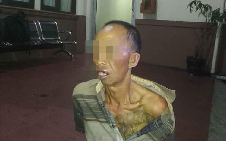 Samsul Bahri pelaku pencurian dengan pemberatan dalam waktu sehari di Palangka Raya