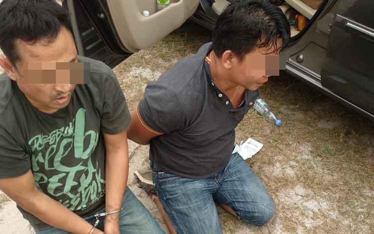 BNNP Kalimantan Tengah bekuk dua sindikat narkoba di Pulang Pisau, Senin 23 September 2019.