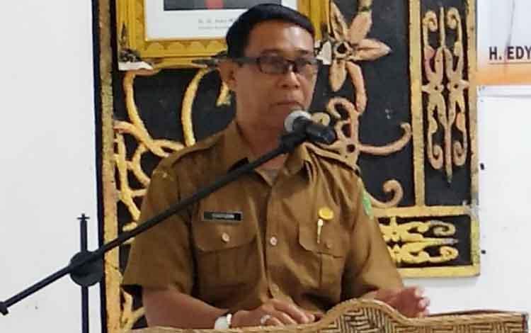 Pj Sekda Pulang Pisau, Saripudin mengatakan pihaknya belum menerima petunjuk dari pemerintah pusat soal penerimaan PPPK.