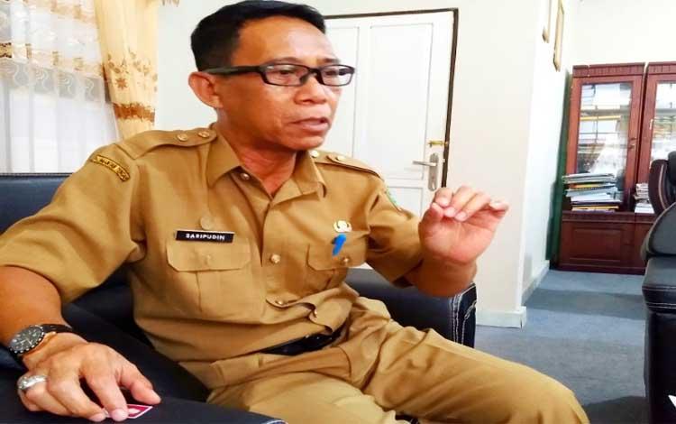 Kepala BKPP Pulang Pisau, Saripudin. Sementara itu masyarakat diminta waspada terhadap isu penerimaan CPNS, Informasi resmi CPNS hanya berasal dari BKPP