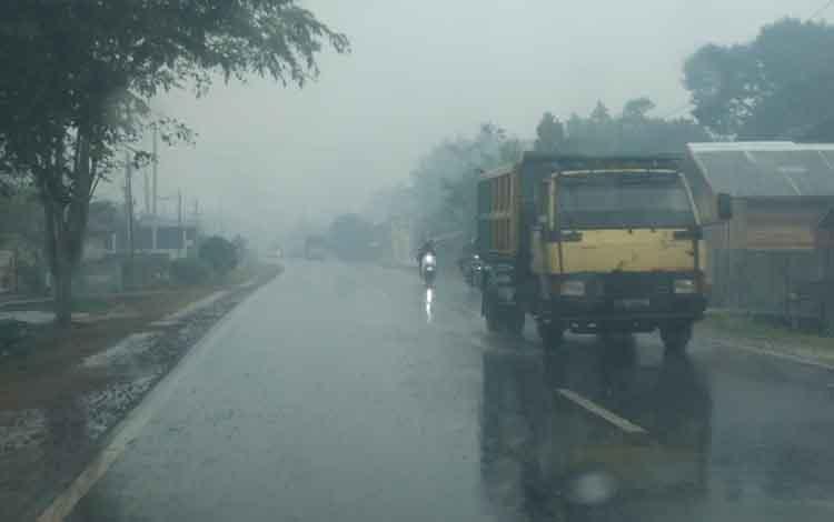 Hujan Deras Di Kotawaringin Timur berpotensi Terjadi Hingga 3 Hari Kedepan