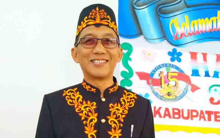 Plt Direktur RSUD Pulang Pisau, dr Muliyanto Budihardjo menjamin pasien miskin yang berobat tetap dilayani dengan baik, Jumat, 27 September 2019.