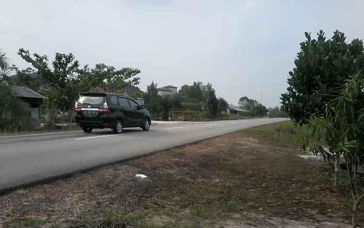 Diguyur hujan lebat cuaca Kota Kasongan Kabupaten Katingan hari ini cerah.