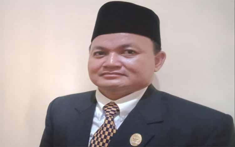Ketua DPRD Kapuas, Ardiansah. Saat ini Alat Kelengkapan DPRD Kapuas periode 2019 - 2024 resmi terbentuk