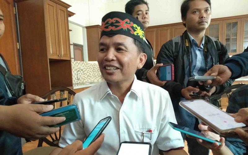 Agustiar Sabran menyampaikan bahwa dirinya masih belum ada niat untuk maju sebagai bakal calon bupati di Pilkada Kotim 2020.