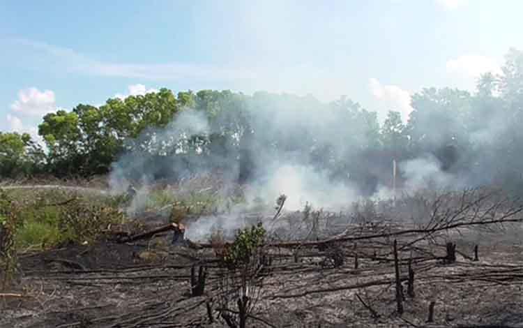 Pemerintah Kota Palangka Raya menurunkan status kebakaran hutan dan lahan atau karhutla menjadi siaga darurat dari sebelumnya tanggap darurat.