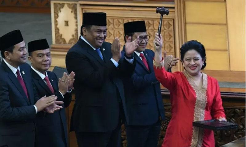 Ketua DPR RI, Puan Maharani yang juga politisi PDI Perjuangan. (foto : ANTARA)