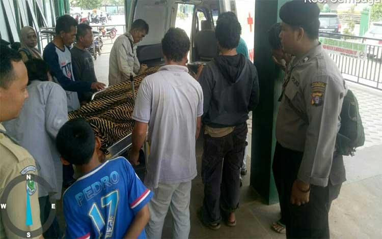Sopir truk yang ditemukan meninggal di musala SPBU Desa Jemaras murni sakit