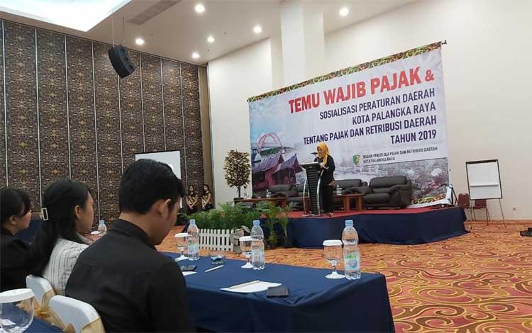 BPPRD Kota Palangka Raya mengadakan kegiatan temu pajak, Kamis 3 Oktober 2019