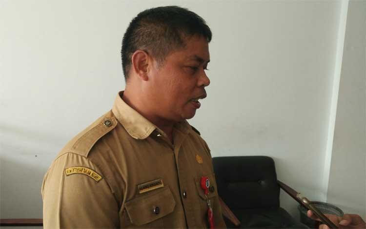 Kepala BKD Kotim Alang Arianto. Lelang kabatan di Kotawaringin Timur terbuka untuk ASN lingkup Pemerintah Provinsi Kalimantan Tengah, Kamis 3 Oktober 2019