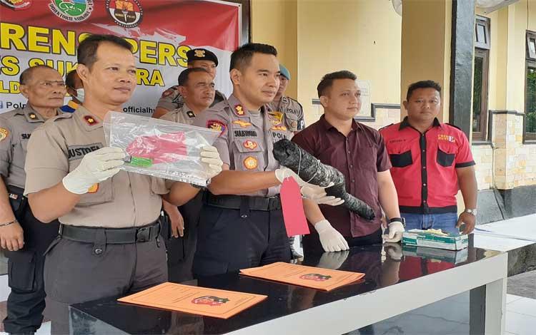 Polres Sukamara menetapkan 3a tersangka kasus kebakaran hutan dan lahan atau Karhutla selama 2019