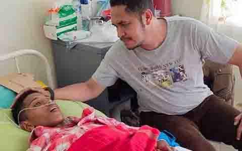 Bek Timnas Indonesia U-16, Alfin Lestaluhu yang menjadi korban gempa di Ambon. (foto : instagram)