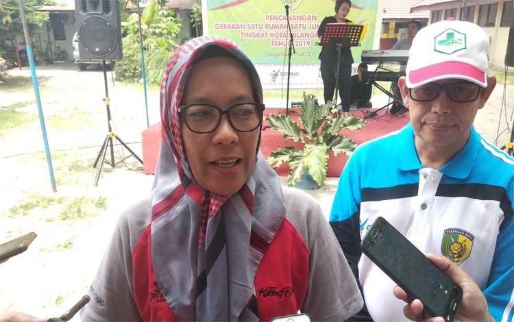 Sekertaris Daerah Kota Palangka Raya, Hera Nugrahayu. Sejak Januari sampai dengan akhir September 2019 tercatat sudah ada 3 kasus kematian akibat DBD, Jumat 4 Oktober 2019