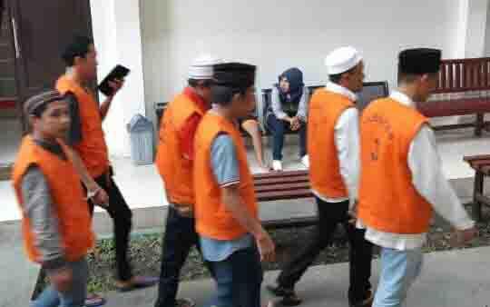Tahanan yang akan sidang di PN Sampit.