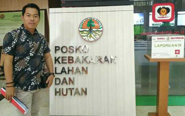 Aktivis lingkungan di Kabupaten Kotawaringin Timur (Kotim), Gahara melaporkan dugaan kebakaran lahan di perusahaan Hutan Tanaman Industri (HTI) di PT Ceria Karya Pranawa (CKP) ke Kementerian Lingkungan Hidup dan Kehutanan (KLHK).