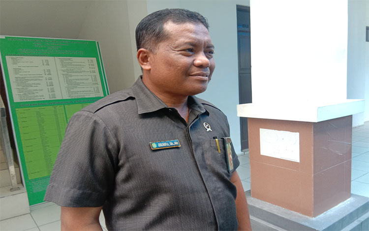 Kepala Humas Pengadilan Negeri Palangka, Zulkifli. Saat ini Pengadilan Negeri Palangka Raya sedang menangani 2 kasus Karhutla