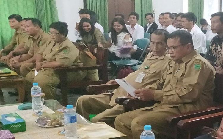 Plt Asisten III Setda Pulang Pisau, Halidi saat menghadiri pelatihan tata kelola destinasi pariwisata