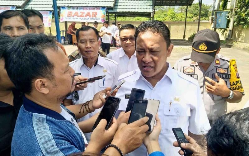 Bupati Pulang Pisau, H Edy Pratowo meminta semua OPD di Pulang Pisau mengelola aset dengan baik, Senin 7 Oktober 2019.