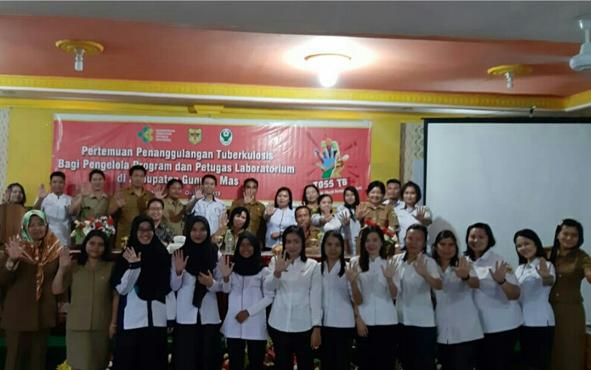 Dinas Kesehatan atau Dinkes Kabupaten Gunung Mas menggelar Pertemuan Penanggulangan Tuberkulosis bagi Pengelola Program dan Petugas Laboratorium Puskesmas dan Rumah Sakit, di Aula Hotel Lising, Kota Kuala Kurun, Selasa, 8 Oktober 2019.