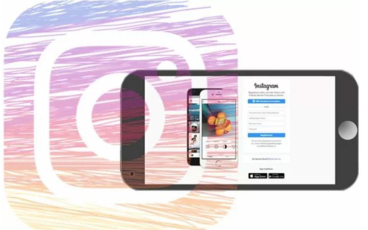 Ilustrasi -Instagram menyediakan mode gelap (dark mode) untuk aplikasi mereka di ponsel berbasis Android 10 dan juga iOS 13.(Istimewa)