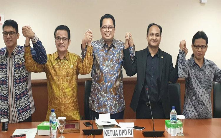 Anggota DPD RI dari Kalteng Agustin Teras Narang dipercaya menjadi Ketua Komite I melalui musyawarah dan mufakat di Jakarta, Selasa 8 Oktober 2019