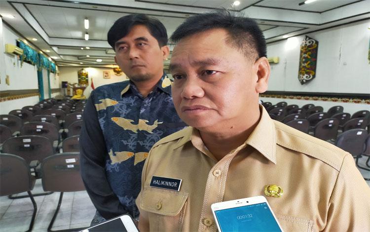 Sekda Kotim Halikinnor pembangunan gedung Sampit Expo sudah mulai berjalan, Rabu 9 Oktober 2019