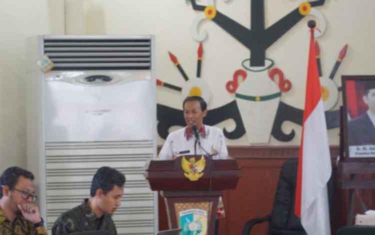 Bappeda Kota Palangka Raya mengadakan Bimtek Aplikasi E-Movev untuk memperkuat SDM administrator dan operator