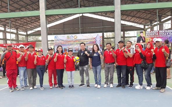 Ketua Harian Komite Olahraga Nasional Indonesia (KONI) Kabupaten Barito Timur (Bartim), Ariantho S Muler, mengapresiasi Turnamen Bola Voli yang digelar Ikatan Guru Indonesia (IGI).