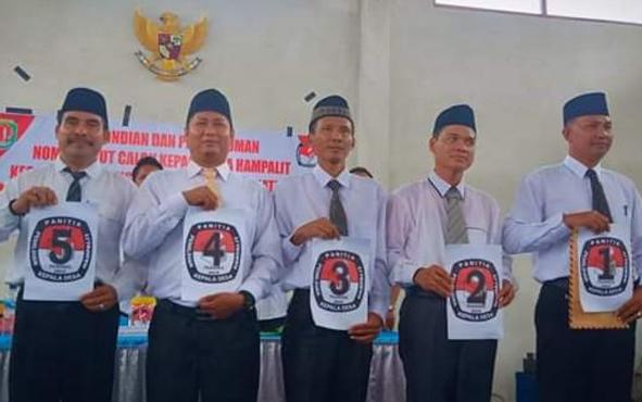 Kapolsek Katingan Hilir Iptu Nurheriyanto Hidayat mengimbau masyarakat bersama-sama menjaga keamanan dan ketertiban menjelang pelaksanaan pemilihan kepala desa atau pilkades serentak.