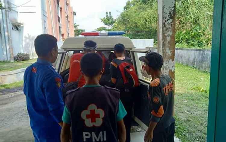 Jenazah Moh Slamet yang ditemukan tewas di Sungai Mentaya akan dimakamkan di Sampit, Senin, 14 September 2019.