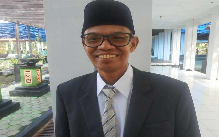 Kepala Dinas Ketahanan Pangan dan Pertanian Kabupaten Seruyan, Ilyas. DKPP Seruyan siap dampingi petani songsong musim tanam Oktober - Maret
