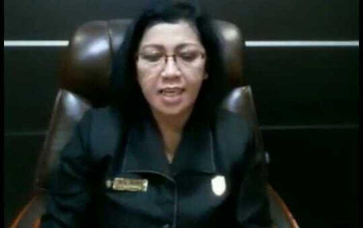 Ketua DPRD Kotim, Rinie. Sementara itu unsur pimpinan DPRD Kotim mendukung Porprov ke 12 yang akan dilaksanakan pada 2022 di Sampit