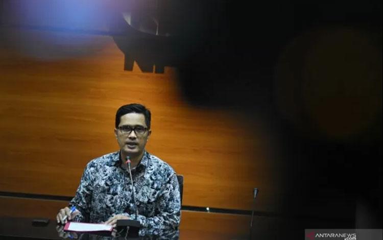 Juru Bicara KPK Febri Diansyah. ANTARA FOTO/Indrianto Eko Suwarso/pd/aa.